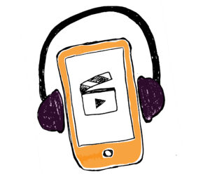 Listening to video sketch