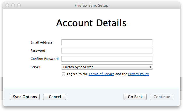 FF 4.0 Sync Create-Account dialog