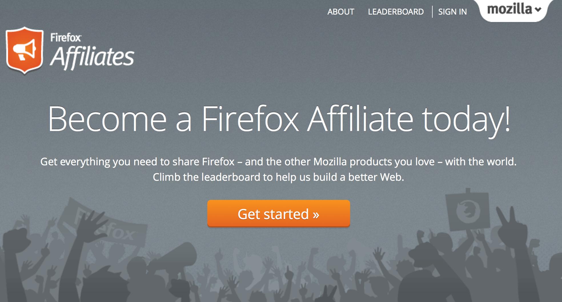New Affiliates web site!