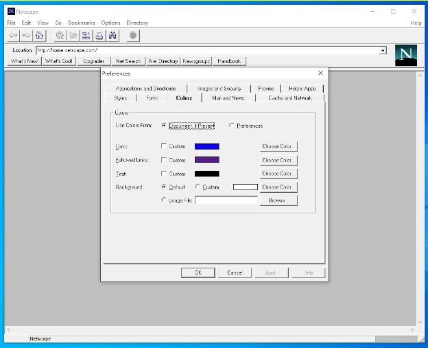 Netscape 1.22