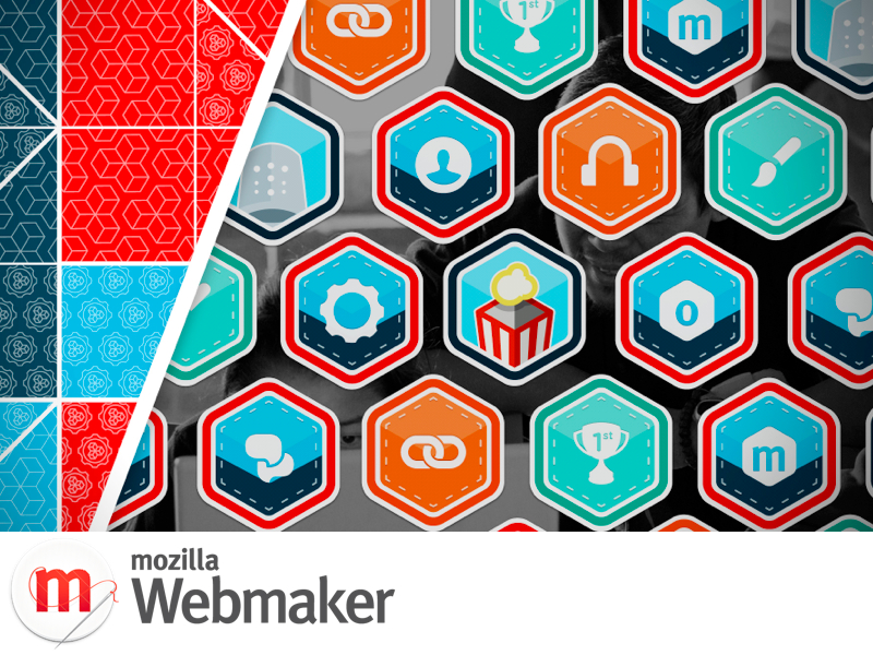 Mozilla Webmaker badges art.005