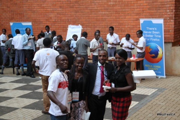 Mozfest East Africa in Uganda, the biggest event of it's kind in Africa.