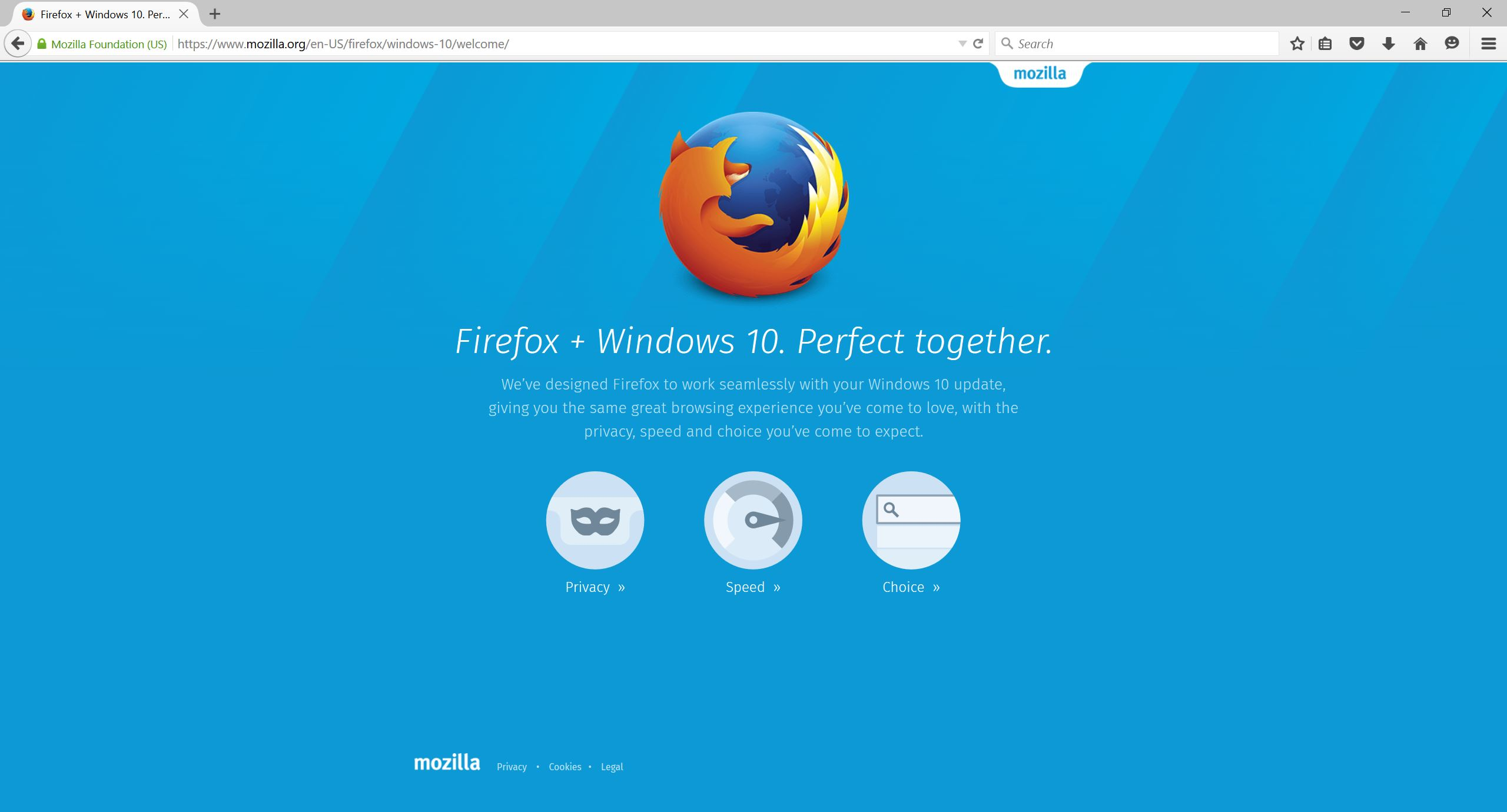 Firefox Brings Fresh new Look to Windows 10 and Makes Add-ons Safer - The  Mozilla Blog
