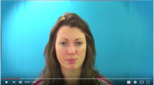 Speech recognition using lip-reading