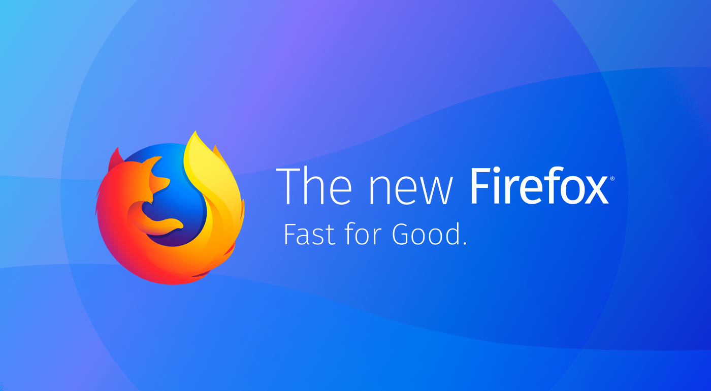 Firefox logo and tagline