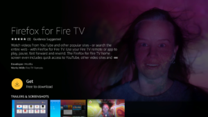 Firefox is Now on Amazon Fire TV – Happy Holiday Watching
