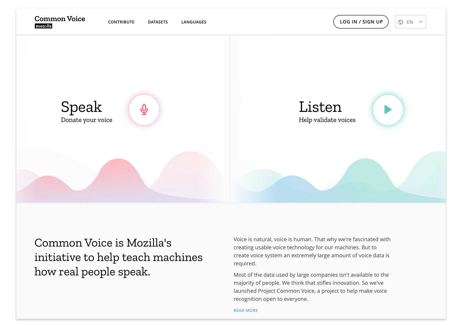 Sharing our Common Voices – Mozilla releases the largest to-date public domain transcribed voice dataset